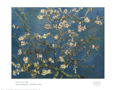 Almond Blossom Poster by Vincent Van Gogh for $31.25 CAD