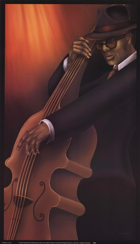 Jazz City 4 Poster by Sagamore Studio for $18.75 CAD