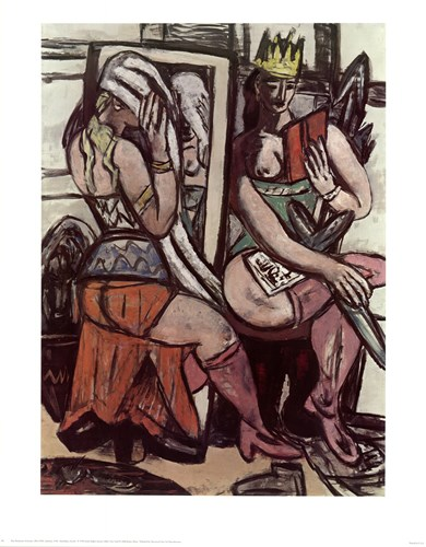 Actresses Poster by Max Beckmann for $20.00 CAD