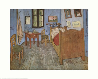 Bedroom At Arles Poster by Vincent Van Gogh for $17.50 CAD