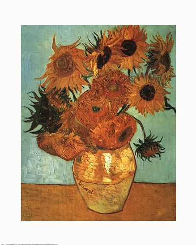 Sunflowers No 2 Poster by Vincent Van Gogh for $17.50 CAD