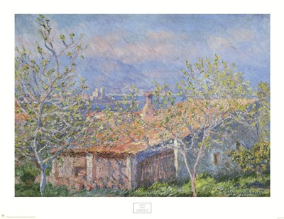 Antibes Poster by Claude Monet for $40.00 CAD