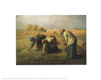 Gleaners Poster by Jean Francois Millet for $8.75 CAD