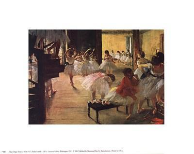 Ballet School, c. 1876 Poster by Edgar Degas for $8.75 CAD