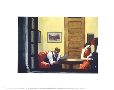 Room in New York Poster by Edward Hopper for $8.75 CAD