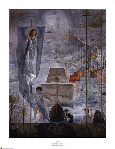 The Discovery of America by Christopher Columbus, c.1959 Poster by Salvador Dali for $37.50 CAD