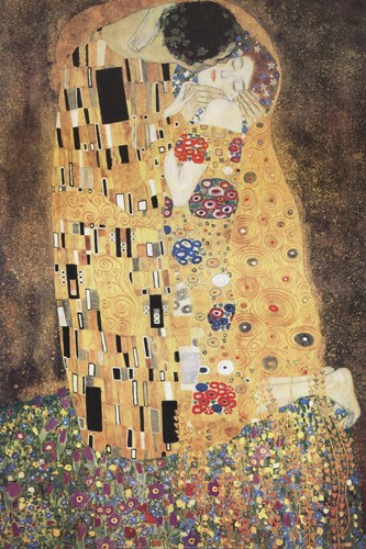 The Kiss Poster by Gustav Klimt for $43.75 CAD