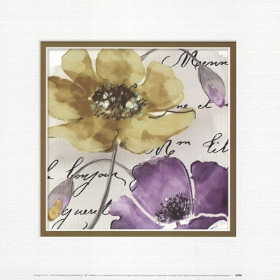 Watercolors 3 Poster by Mindy Sommers for $17.50 CAD