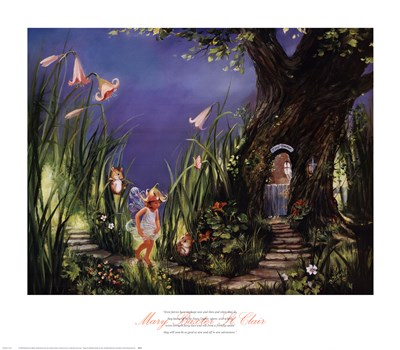A Little More Fairy Dust, Please Poster by Mary Baxter St. Clair for $40.00 CAD