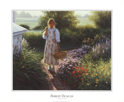 Grandma's Garden Poster by Robert Duncan for $37.50 CAD