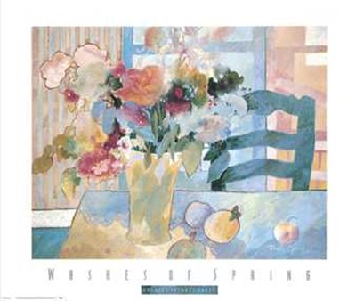Washes of Spring Poster by Dorothy Ganek for $31.25 CAD