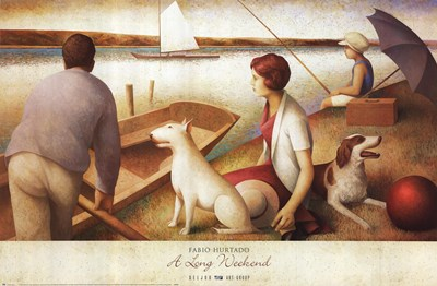 A Long Weekend Poster by Fabio Hurtado for $52.50 CAD