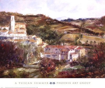 A Tuscan Summer Poster by Michael Longo for $55.00 CAD