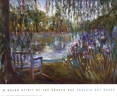 Spirit of the Garden One Poster by Mary Dulon for $52.50 CAD
