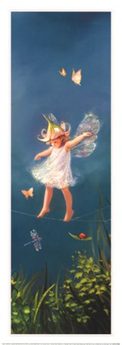 A Little More Fairy Dust, Please Poster by Mary Baxter St. Clair for $27.50 CAD