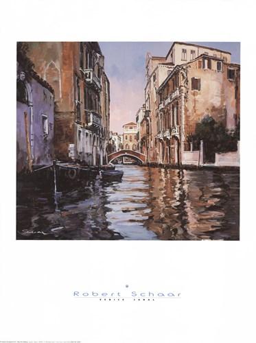 Venice Canal Poster by Robert Schaar for $40.00 CAD