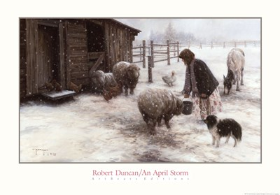 An April Storm Poster by Robert Duncan for $45.00 CAD