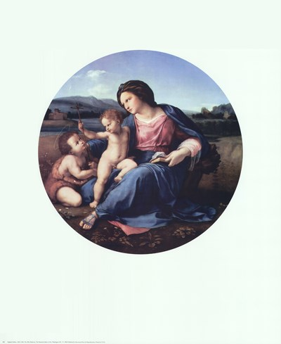 Alba Madonna, c.1514 Poster by Raphael for $25.00 CAD