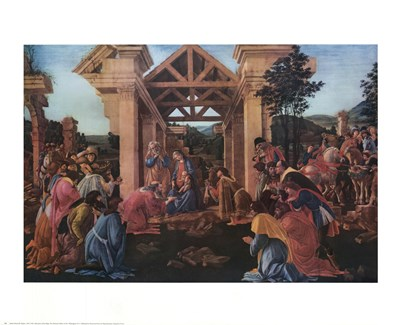 Adoration Poster by Sandro Botticelli for $25.00 CAD