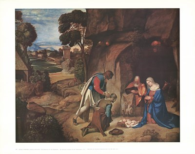 Adoration of the Shepherds Poster by Unknown for $20.00 CAD