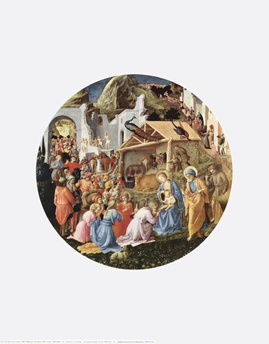 Adoration of the Magi Poster by Angelico & Lippi for $20.00 CAD