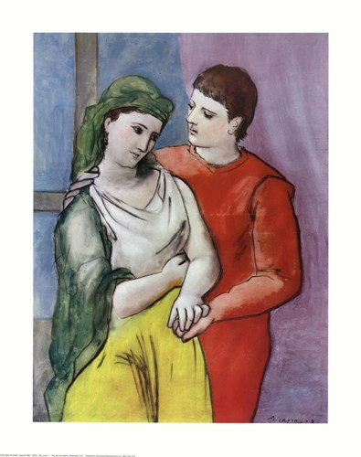 Lovers Poster by Pablo Picasso for $20.00 CAD