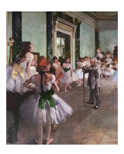 Dance Class Poster by Edgar Degas for $25.00 CAD
