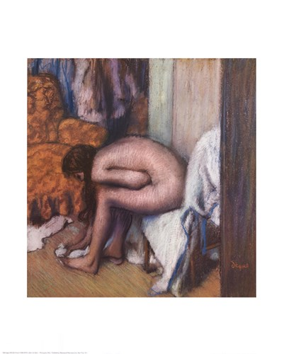 After the Bath Poster by Edgar Degas for $25.00 CAD