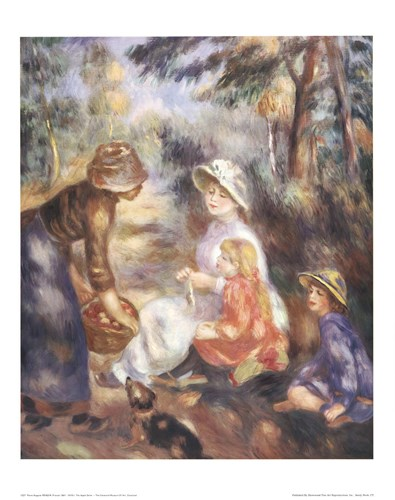 Apple Seller Poster by Pierre-Auguste Renoir for $25.00 CAD