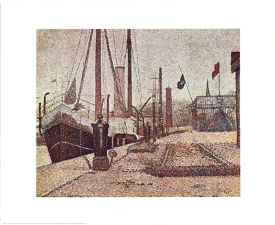 Maria At Honfleur Poster by Georges Seurat for $25.00 CAD