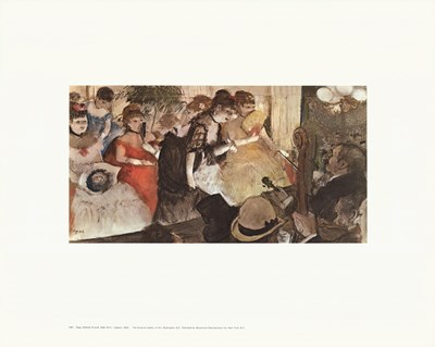 Cabaret Poster by Edgar Degas for $23.75 CAD