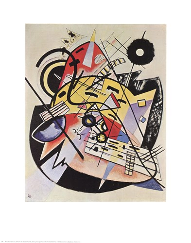 White Dot Poster by Wassily Kandinsky for $25.00 CAD