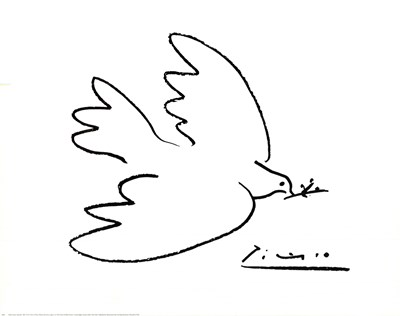 Dove Of Peace Poster by Pablo Picasso for $20.00 CAD