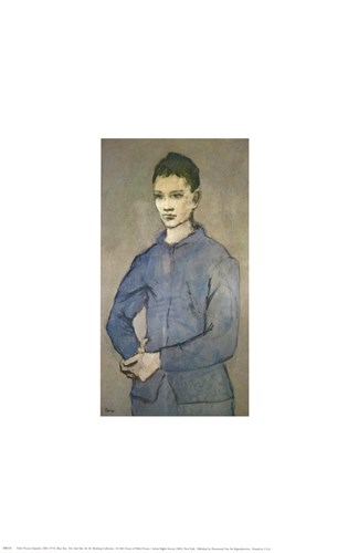 Blue Boy Poster by Pablo Picasso for $15.00 CAD