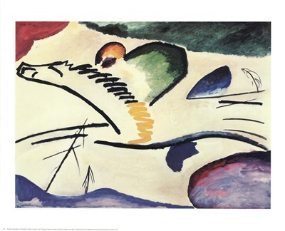 Lyric (Man on a Horse) Poster by Wassily Kandinsky for $25.00 CAD