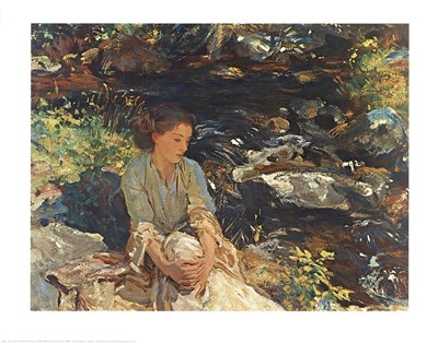 Black Brook Poster by John Singer Sargent for $25.00 CAD
