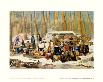 American Forest Scenes Poster by Currier and Ives for $25.00 CAD