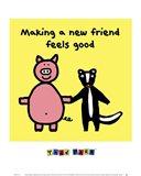 Making a New Friend Feels Good