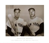American Hero's Joe Dimaggio & Mickey Mantle