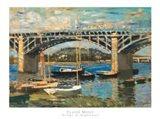 Bridge at Argenteuil (bridge center)