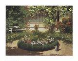 A Sunlit Flower Garden