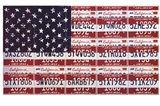 USA License Flag