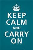 Keep Calm (Teal)