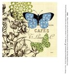 French Butterflies Polka Dot