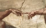 Creation Of Adam (detail of hands)