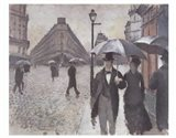 Paris - A Rainy Day, 1877