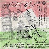 Vintage Travel Italia I (Flag)
