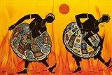 Two Dancing Women