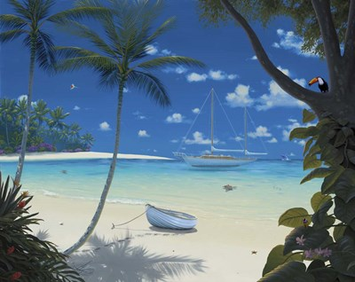 Sunlit Paradise Poster by Al Hogue for $42.50 CAD
