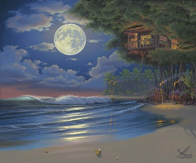 Moonlit Serenade Poster by Al Hogue for $50.00 CAD